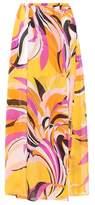 Emilio Pucci Beach Printed silk skirt