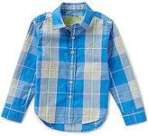 Joules Little Boys 3-6 Lachlan Plaid Button-Down Shirt