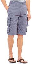 Roundtree & Yorke 9-Pocket Lightweight Twill Cargo Shorts