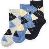 Ralph Lauren Argyle Sock 3-Pack