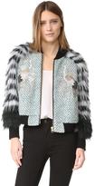 MILA Furs Penny Bomber Jacket