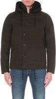 Sandro Deck Contrast-lining Woven Coat