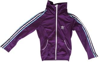 adidas Purple Polyester Jackets