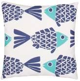 Jaipur Veranda Go Fish Throw Pillow