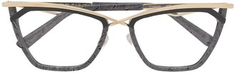 Cazal Printed Frames Glasses