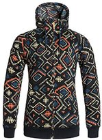 Roxy SNOW Junior's Resin Knit Fleece Jacket
