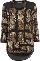 Calvin Klein Wadune tunic woven top