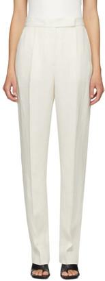 PARTOW White Silk Anita Trouser