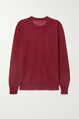 Joseph Cashmere Sweater - Burgundy