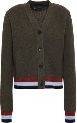 Markus Lupfer Paula Striped Wool Cardigan