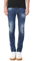 DSQUARED2 Indigo Wash Cool Guy Jeans