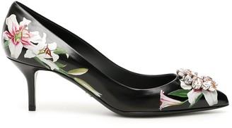 Dolce & Gabbana Floral Embellished Pumps