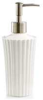 Martha Stewart Collection Ceramic Scallop Lotion Dispenser