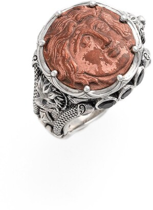 Konstantino 'Aeolous' Greek Coin Ring