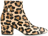 Coliac animal print boots