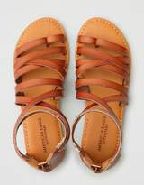 American Eagle Outfitters AE Back Zip Sandal