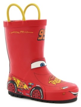 Western Chief Little Kid's and Big Kid's Lightning McQueen Rain Boot