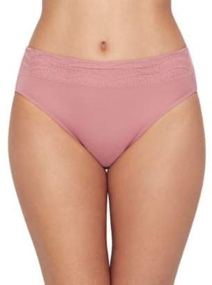 Warner's Womens No Pinching. No Problems. Hi-Cut Microfiber Brief Style-RT7401P