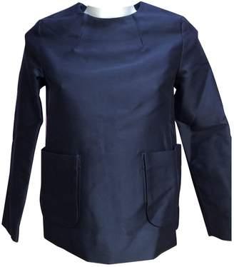 Cos Blue Wool Jacket for Women