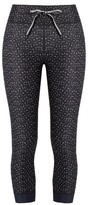 The Upside Twilight-print cropped performance leggings