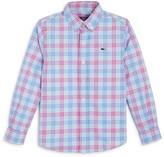 Vineyard Vines Boys' Plaid Button Down Shirt