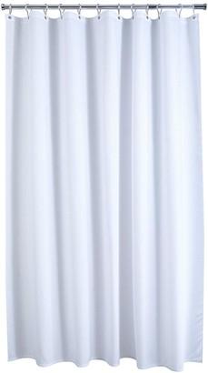 Aqualona White Waffle Shower Curtain