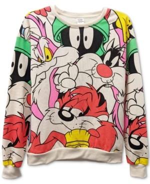 Warner Brothers Juniors' Looney Tunes Graphic Sweatshirt