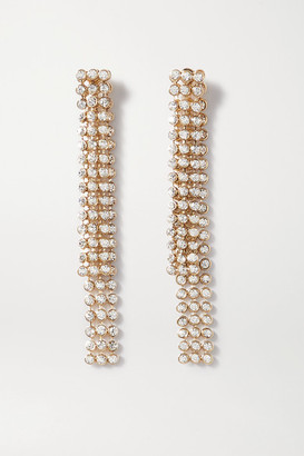 Etro Gold-tone And Crystal Earrings