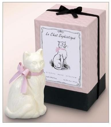 Gianna Rose Atelier le chat sophistiqué cat soap by gianna rose