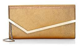 Jimmy Choo Women's Erica Metallic Leather Clutch