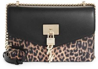 DKNY Elissa Leopard-Print Shoulder Bag