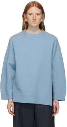 Ports 1961 Blue Wool Fully Fashioned Sweater