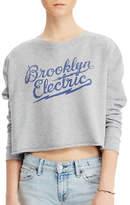 Denim & Supply Ralph Lauren Cropped Graphic Sweatshirt