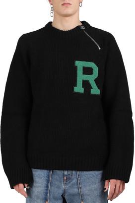 Raf Simons Black R Sweater