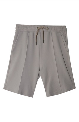 Topman Texture Tie Waist Shorts