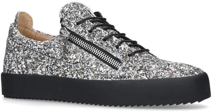 Giuseppe Zanotti Glitter Low-Top Sneakers