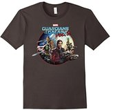 Marvel Guardians of Galaxy 2 Team Round Graphic T-Shirt