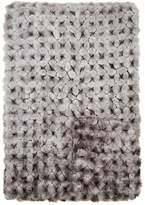 Adrienne Landau Crocheted Mink Fur Throw