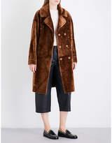 Drome Ladies Dark Sand Luxurious Coat