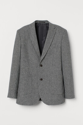 H&M Slim Fit Wool-blend Blazer