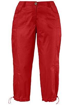 Ulla Popken Women's Cargohose 7/8 Trouser,(Size: 42)