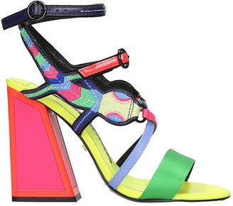 Kat Maconie Molly Sandals In Multicolor Tech/synthetic