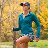 Athleta Plaid Stability Run Short