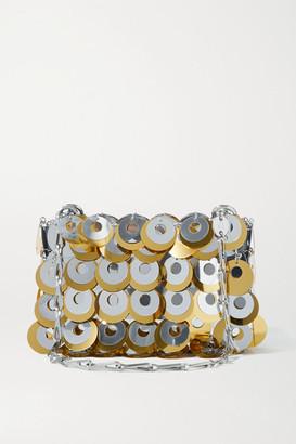 Paco Rabanne Paillette-embellished Chainmail Shoulder Bag