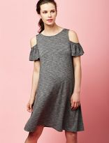 A Pea in the Pod Cold Shoulder Maternity Dress
