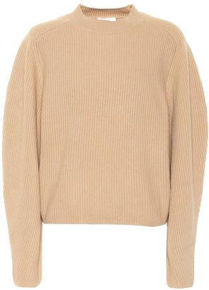 Chloé Ribbed wool and cashmere sweater
