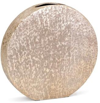 Imax Worldwide Home Nalani Gold Small Disc Vase