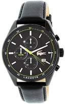 Lacoste Men's 2010785 Dublin Analog Display Japanese Quartz Black Watch