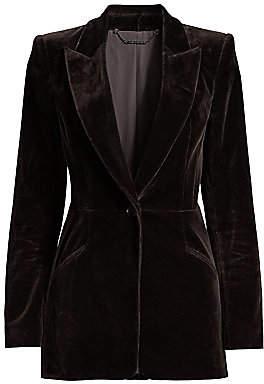 Elie Tahari Women's Madison Velvet Single-Breasted Jacket