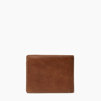 Roots Mens Slimfold Wallet With Coin Pocket Tribe